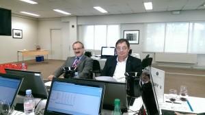 Pierre FRANCOIS (à droite)